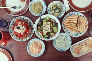 Moments & Meze – City Walking Dinner Tour (3hrs) €60pp